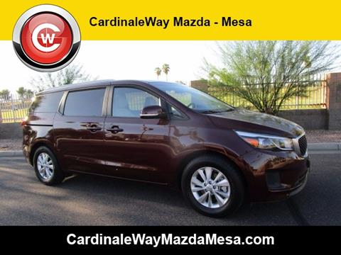 2015 Kia Sedona for sale in Mesa, AZ