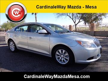2010 Buick LaCrosse for sale in Mesa, AZ