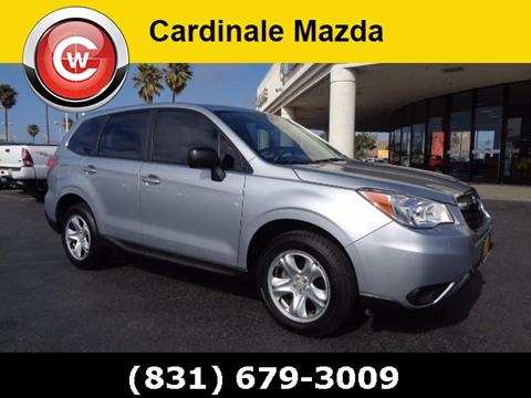 2014 Subaru Forester for sale in Salinas CA