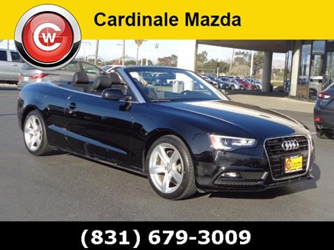 2014 Audi A5 for sale in Salinas CA