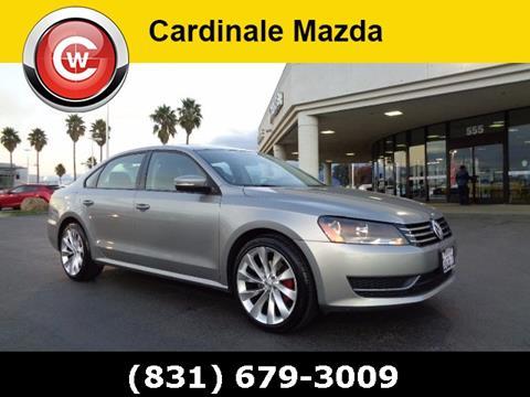 2014 Volkswagen Passat for sale in Salinas CA