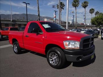 2006 Dodge Ram Pickup 1500 for sale in Corona, CA