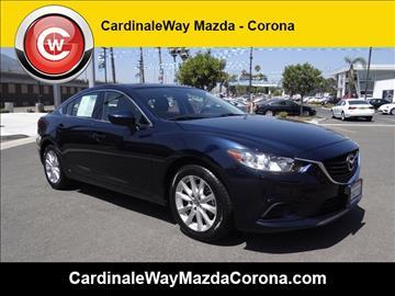 2015 Mazda MAZDA6 for sale in Corona, CA