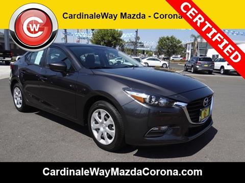 2017 Mazda MAZDA3 for sale in Corona CA