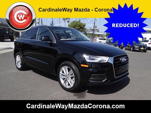 2016 Audi Q3 for sale in Corona CA