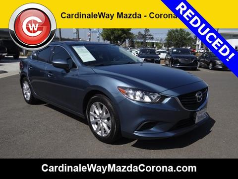 2015 Mazda MAZDA6 for sale in Corona CA