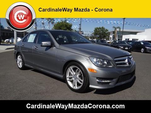 2012 Mercedes-Benz C-Class for sale in Corona CA