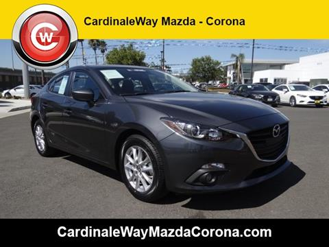 2015 Mazda MAZDA3 for sale in Corona CA