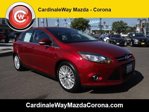 2014 Ford Focus for sale in Corona CA