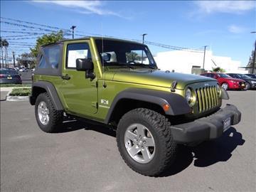 2007 Jeep Wrangler for sale in Corona, CA