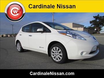 2016 Nissan LEAF for sale in Seaside, CA