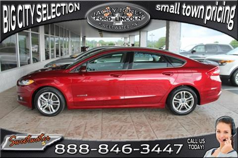 2015 Ford Fusion Hybrid for sale in Sweetwater, TN