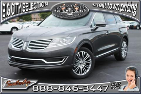 2017 Lincoln MKX for sale in Sweetwater, TN