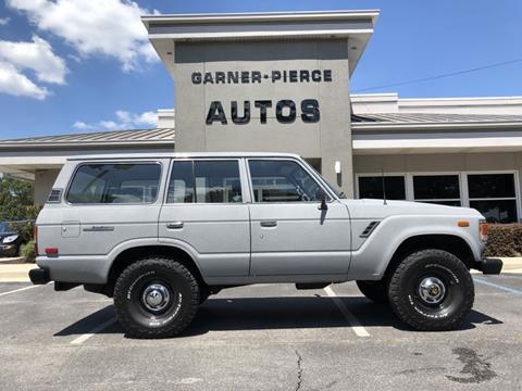 Fj60 For Sale >> 1985 Toyota Land Cruiser For Sale In Florence Al