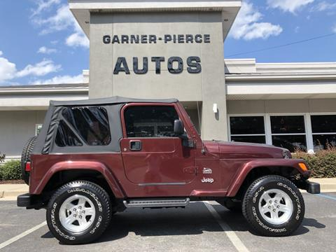 2003 Jeep Wrangler for sale in Florence, AL