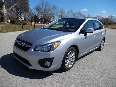 2013 Subaru Impreza 2.0i Premium for sale at COMPACT CARS in West Grove PA