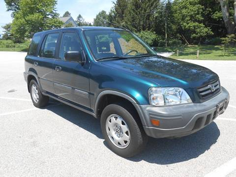 1998 Honda CR-V LX for sale at COMPACT CARS in West Grove PA