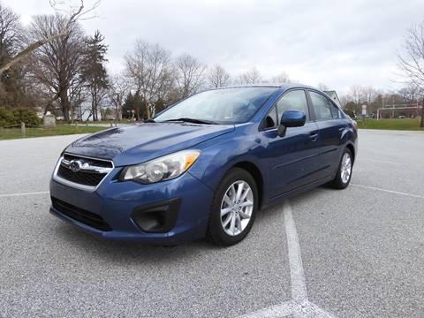 2012 Subaru Impreza 2.0i Premium for sale at COMPACT CARS in West Grove PA