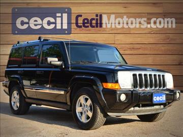 2006 Jeep Commander for sale in Fredericksburg, TX