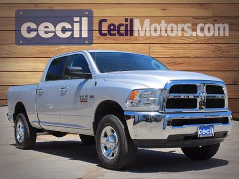 2016 RAM Ram Pickup 2500 for sale in Fredericksburg TX