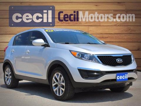 2015 Kia Sportage for sale in Fredericksburg TX