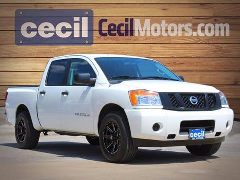 2015 Nissan Titan for sale in Fredericksburg, TX