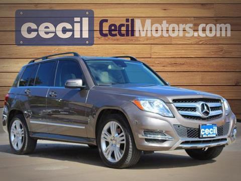 2015 Mercedes-Benz GLK for sale in Fredericksburg TX