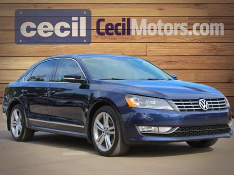 2015 Volkswagen Passat for sale in Fredericksburg TX