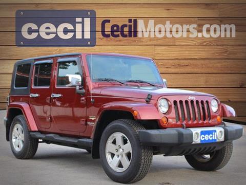 2008 Jeep Wrangler Unlimited for sale in Fredericksburg TX