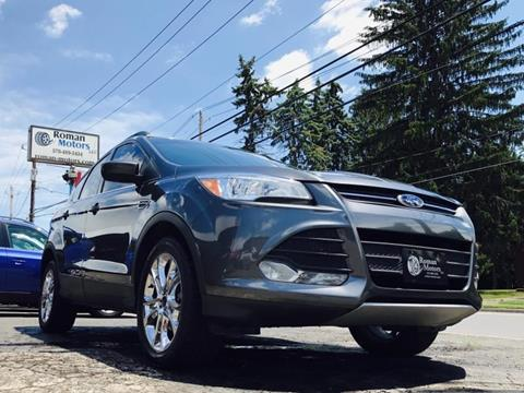 2015 Ford Escape for sale in Blakely, PA
