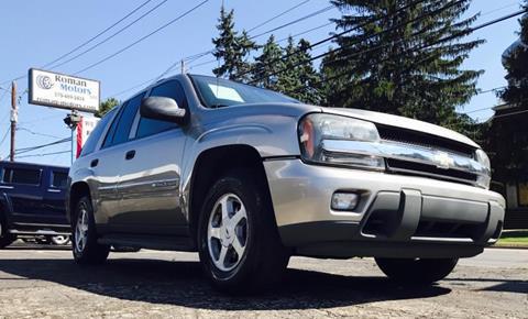 2003 Chevrolet TrailBlazer for sale in Blakely PA