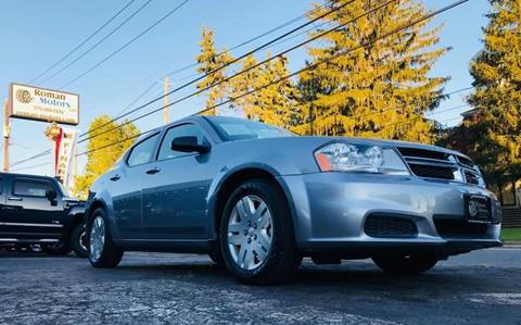 2013 Dodge Avenger for sale in Blakely PA