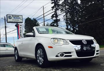 2010 Volkswagen Eos for sale in Blakely, PA