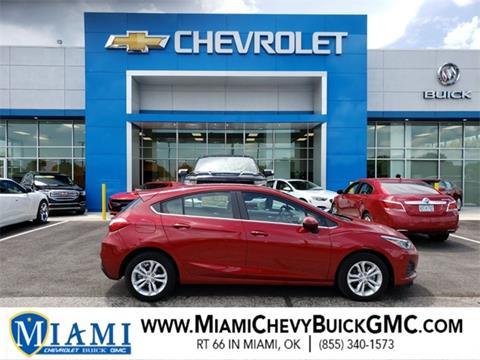 2019 Chevrolet Cruze for sale in Miami, OK
