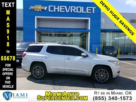 2017 GMC Acadia for sale in Miami, OK