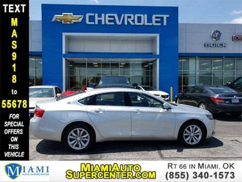 2018 Chevrolet Impala for sale in Miami, OK