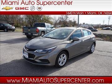2017 Chevrolet Cruze for sale in Miami, OK