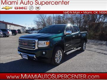 2016 GMC Canyon for sale in Miami, OK