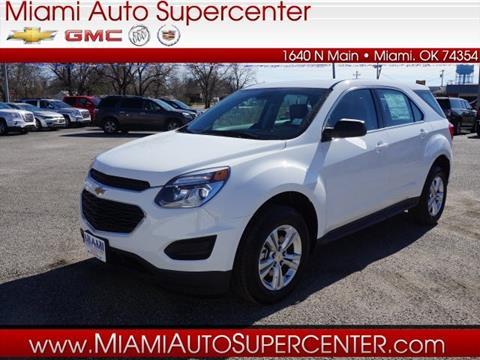 2017 Chevrolet Equinox for sale in Miami, OK