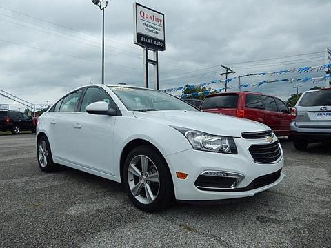 2016 Chevrolet Cruze Limited for sale in Miami, OK
