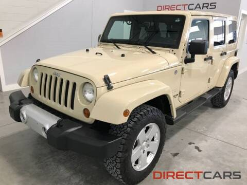 2011 Jeep Wrangler Unlimited Sahara for sale at Direct Cars in Shelby Township MI