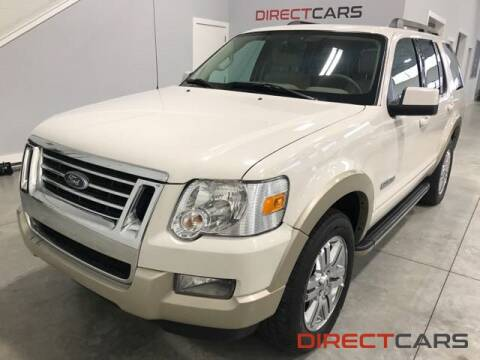 2008 Ford Explorer Eddie Bauer for sale at Direct Cars in Shelby Township MI