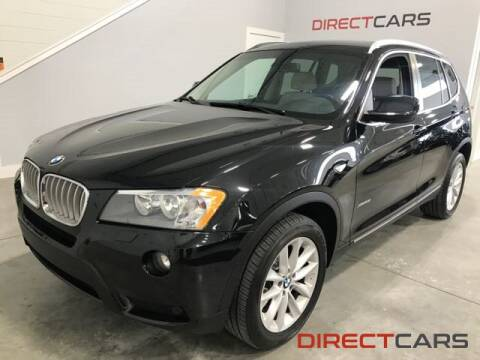 2011 BMW X3 xDrive28i for sale at Direct Cars in Shelby Township MI