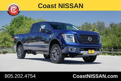 2017 Nissan Titan XD for sale in San Luis Obispo CA