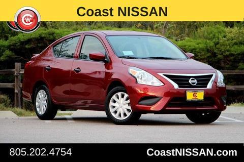 2017 Nissan Versa for sale in San Luis Obispo CA
