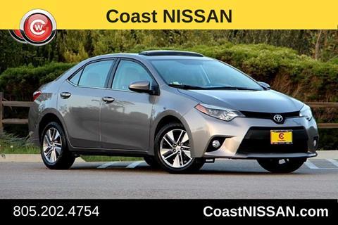 2014 Toyota Corolla for sale in San Luis Obispo CA