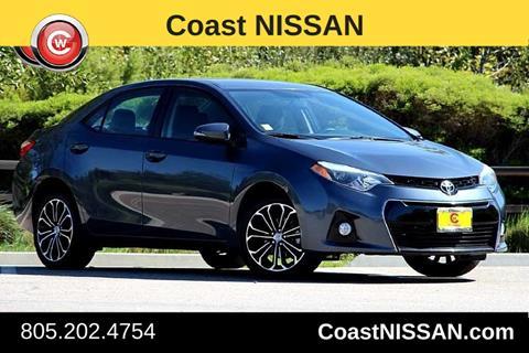 2015 Toyota Corolla for sale in San Luis Obispo CA