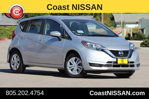2017 Nissan Versa Note for sale in San Luis Obispo CA