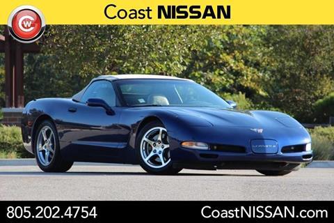 2004 Chevrolet Corvette for sale in San Luis Obispo, CA