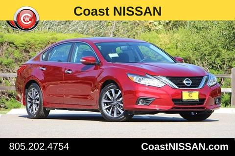 2017 Nissan Altima for sale in San Luis Obispo CA